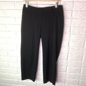 WHBM Crop Leg Pants Size 2 Black